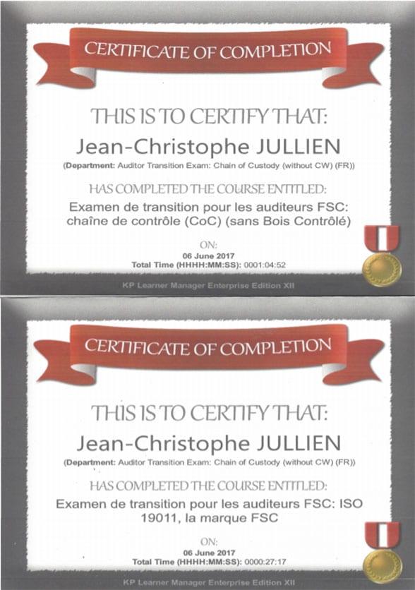 certificat-auditeur